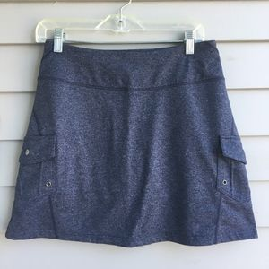 ATHLETA Oasis Skort in Heather Gray S